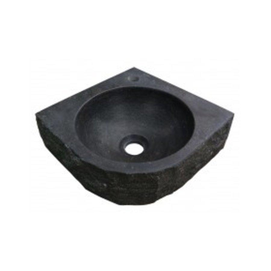 Hardstenen hamerslag hoekfontein 30x30x10-1