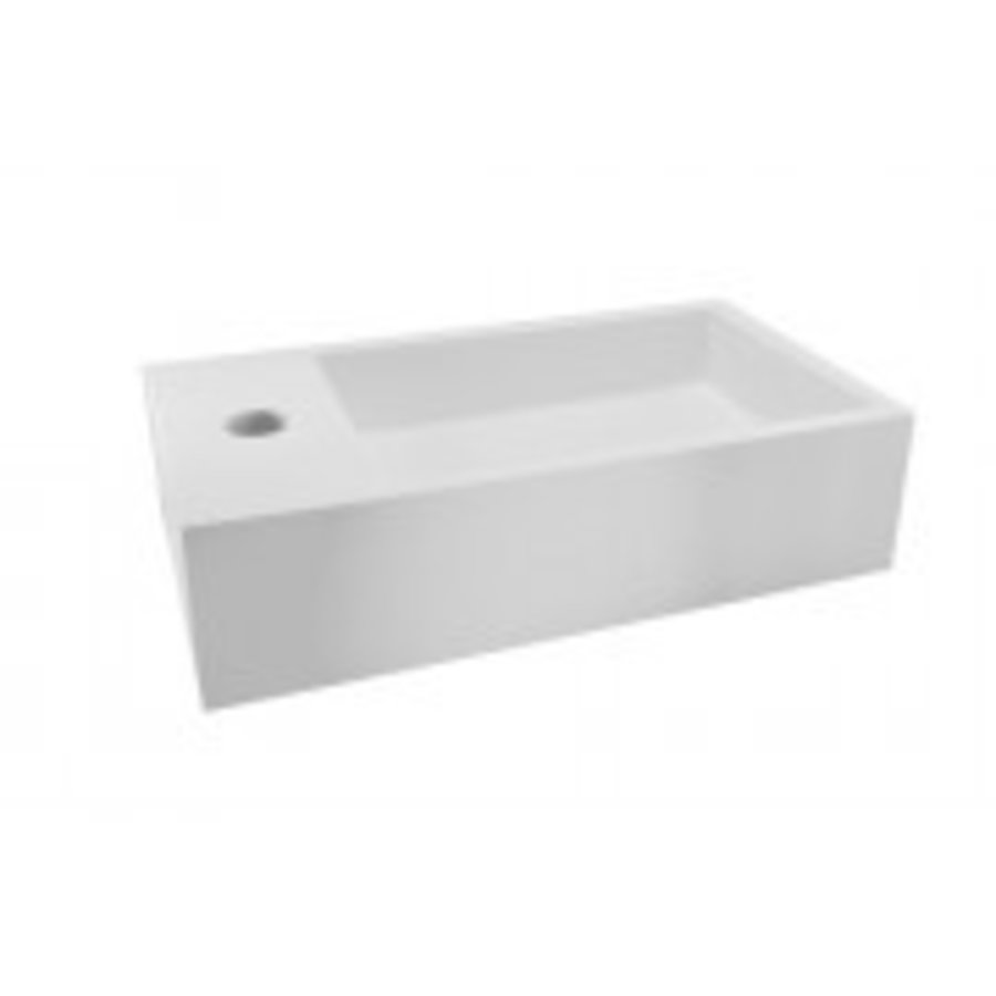 Solid Surface fontein links 400x220x100-1