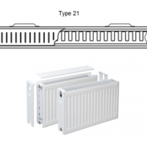 Paneelradiator Type 21