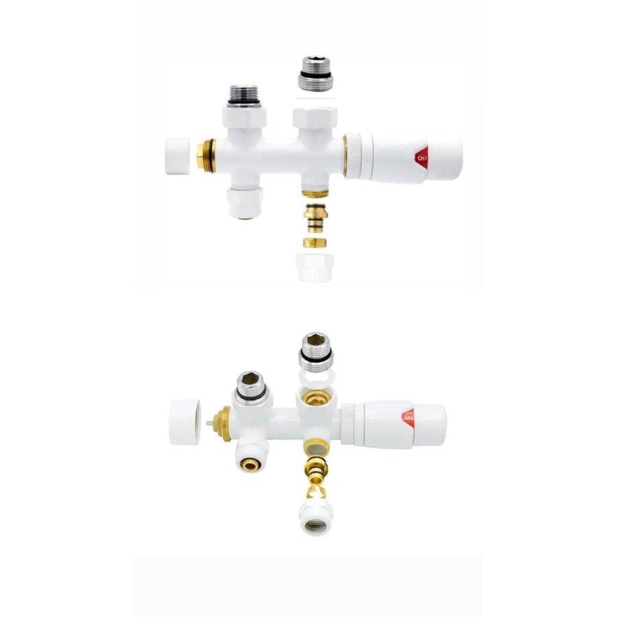 Verticale radiator T20 Antraciet Vlakke Voorzijde, diverse afmetingen-3
