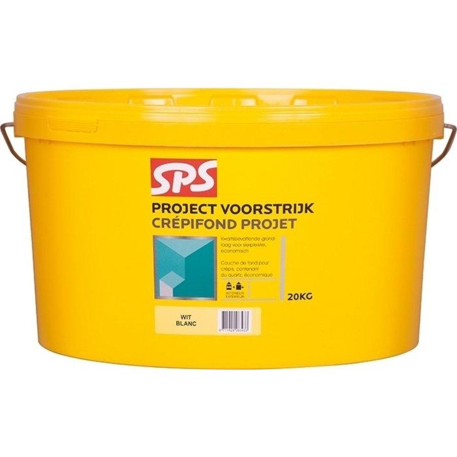 SPS Project Voorstrijk Wit Bi/Bu. 20 kg-1