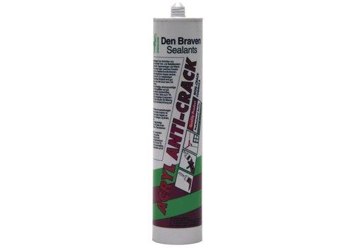 Zwaluw Acrylkit Anti-Crack 310 ml. Wit