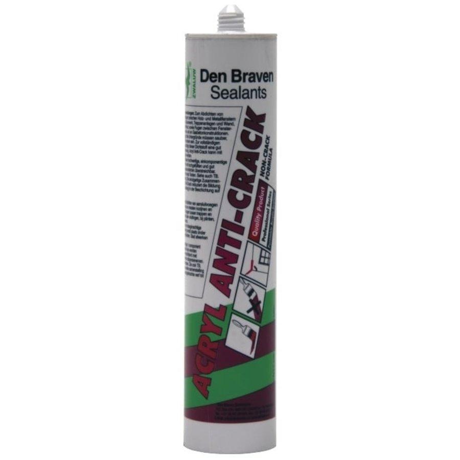 Zwaluw Acrylkit Anti-Crack 310 ml. Wit-1