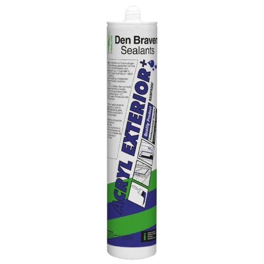 Zwaluw Acryl Exterieur + 310 ml. Wit-1
