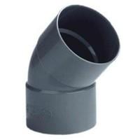 PVC Lijmbocht M/M 45°