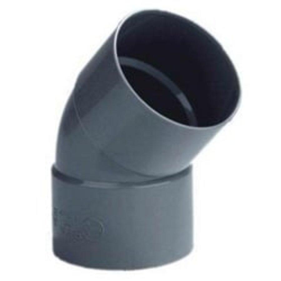 PVC Lijmbocht M/M 45°-1