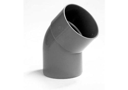 PVC Lijmbocht M/S 45°