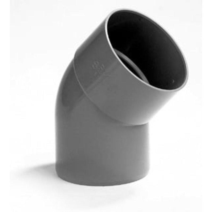 PVC Lijmbocht M/S 45°-1