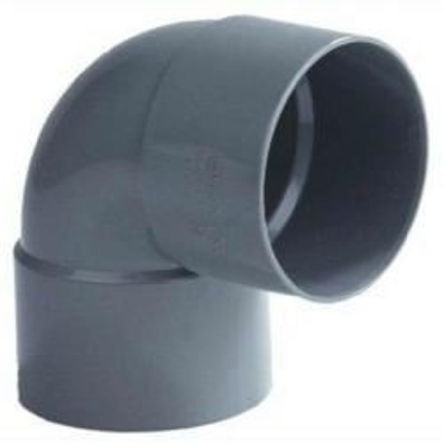 PVC Lijmbocht M/M 90°-1