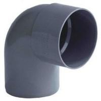 PVC Lijmbocht M/S 90°