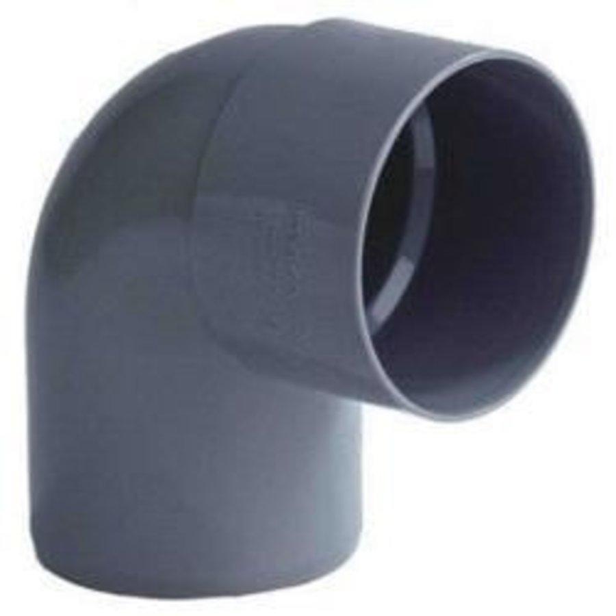 PVC Lijmbocht M/S 90°-1