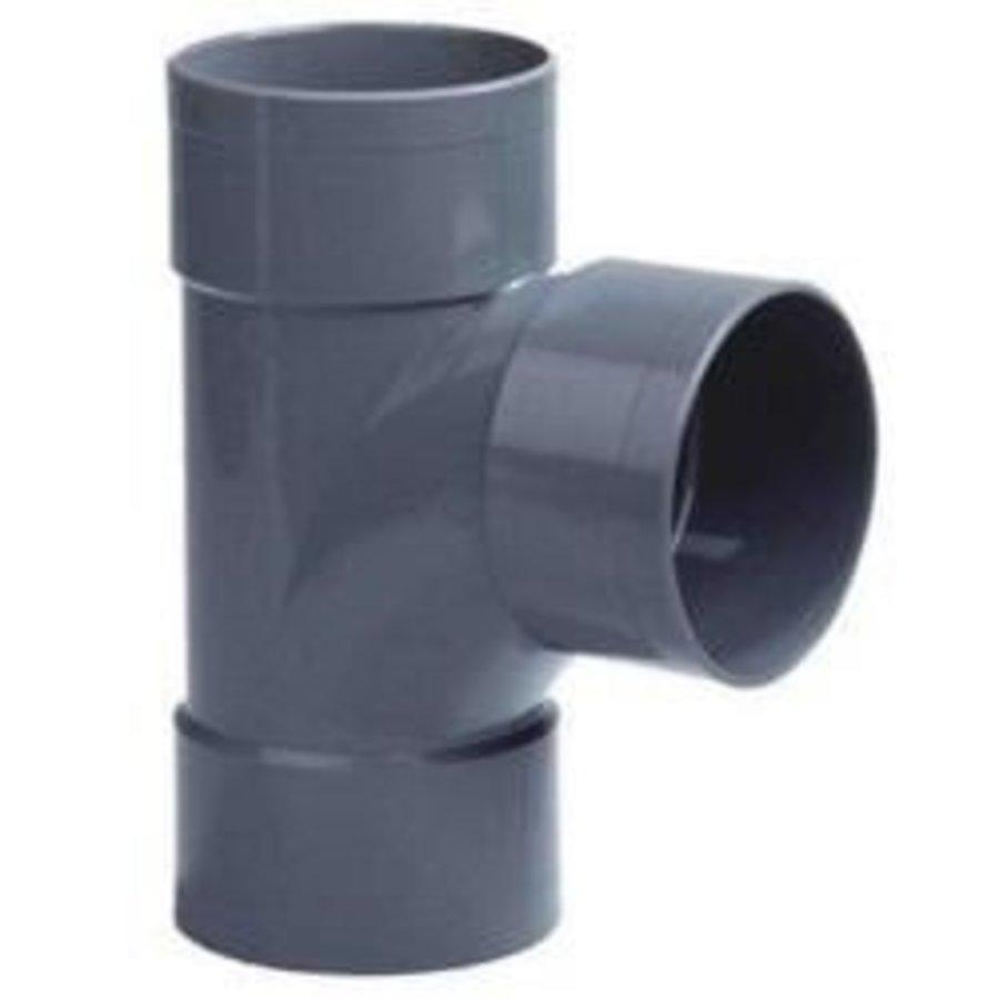 PVC Lijm T-stuk 3XM 90°-1