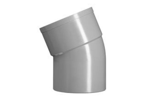 PVC Lijmbocht M/S 22.5°