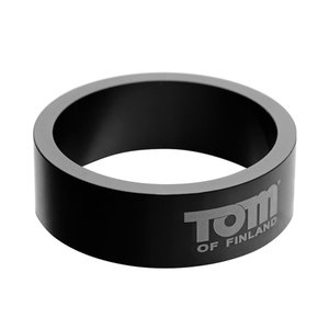 Tom of Finland Aluminium Cockring - 45mm