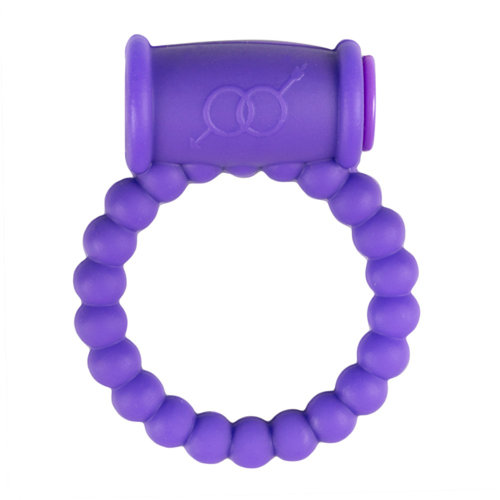 Easytoys Online Only Cockring Met Vibrator - Paars