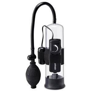 Pump Worx Pump Worx Beginners Vibrerende Penispomp - Zwart