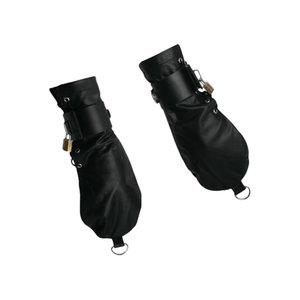 Strict Leather Bondage Mittens