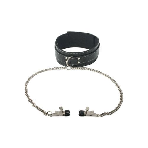 Master Series Coveted Halsband En Klemmenset
