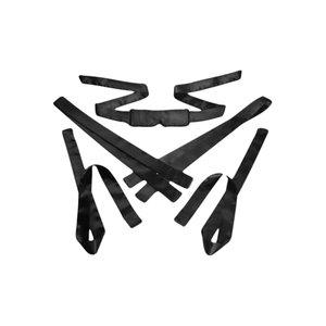 GreyGasms 5 delige Bondage Set Satijn - Black