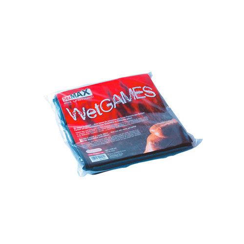 Joydivision SexMAX WetGAMES Laklaken 180 x 220 cm - Zwart