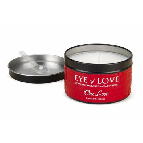 Eye Of Love EOL One Love massage kaars voor haar