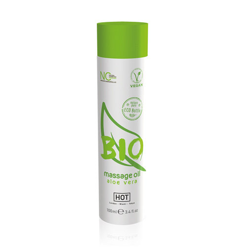 HOT Bio HOT BIO Massageolie Aloe Vera - 100 ml