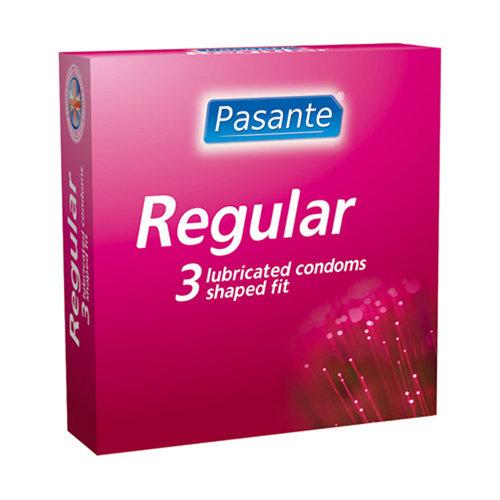 Pasante Pasante Regular condoms 3 stuks
