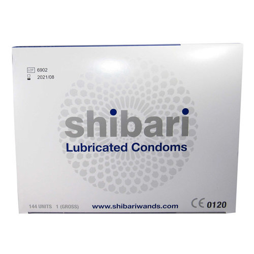 Shibari Shibari Condooms Met Glijmiddel - 144 Stuks
