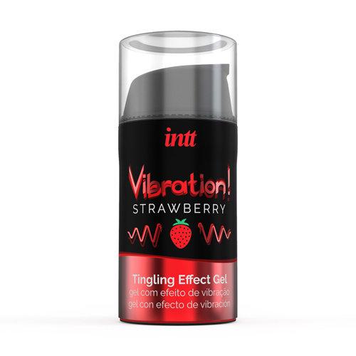 INTT Vibration! Strawberry Tintelende Gel