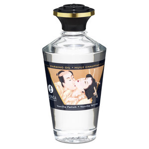 Shunga Aphrodisiac Verwarmende Massageolie - Vanilla Fetish - 100ml