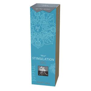 Shiatsu Stimulerende Gel - Mint