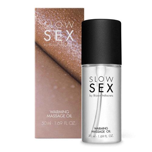 Slow Sex Verwarmende Massageolie - 50 ml