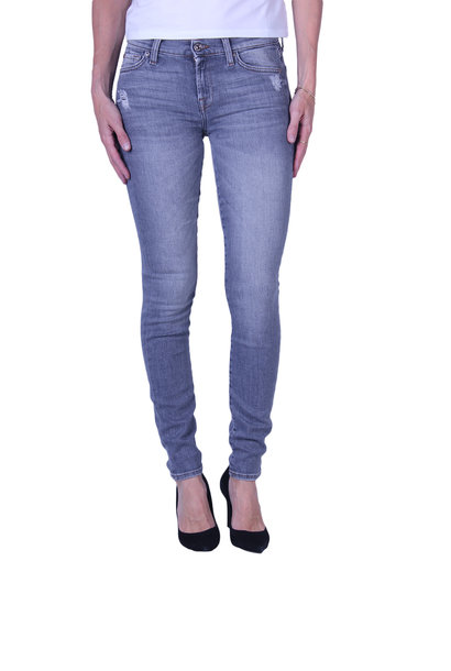 Jeans 7 For All Mankind THE SKINNY Slim Illusion Drifted Distressed