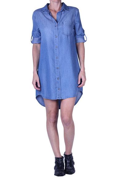 Jurk Bella Dahl Pocket Shirt Dress