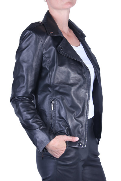 Repeat Leather Jacket