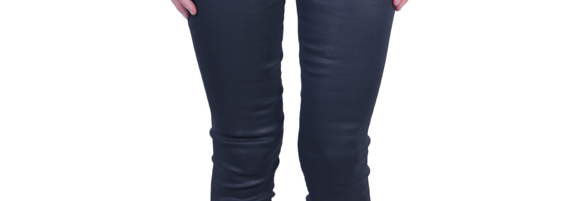 Broek 7 For All Mankind THE SKINNY Coated Slim Illusion