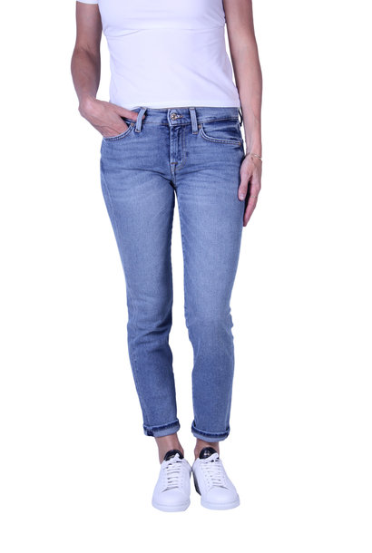 Jeans 7 For All Mankind MID RISE ROXANNE CROP Luxe Vintage Flashback