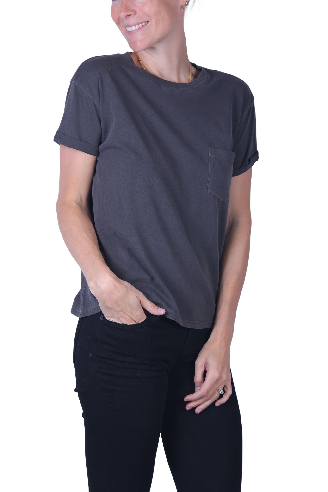 T-shirt Frame SLOUCHY POCKET-1