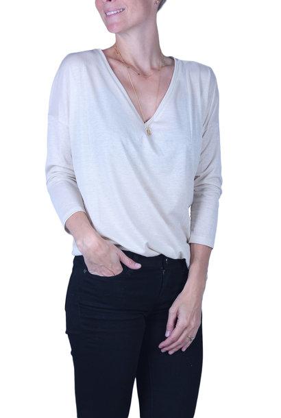 T-shirt Drykorn VENJA (verkrijgbaar in 2 kleuren)