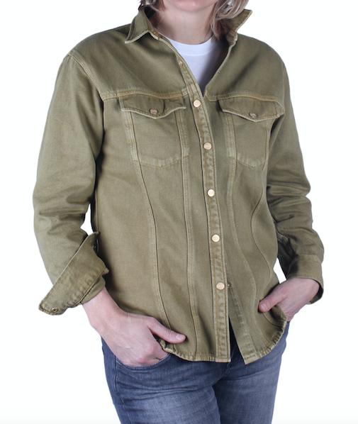 Overshirt Closed Deryn (verkrijgbaar in 2 kleuren)-1