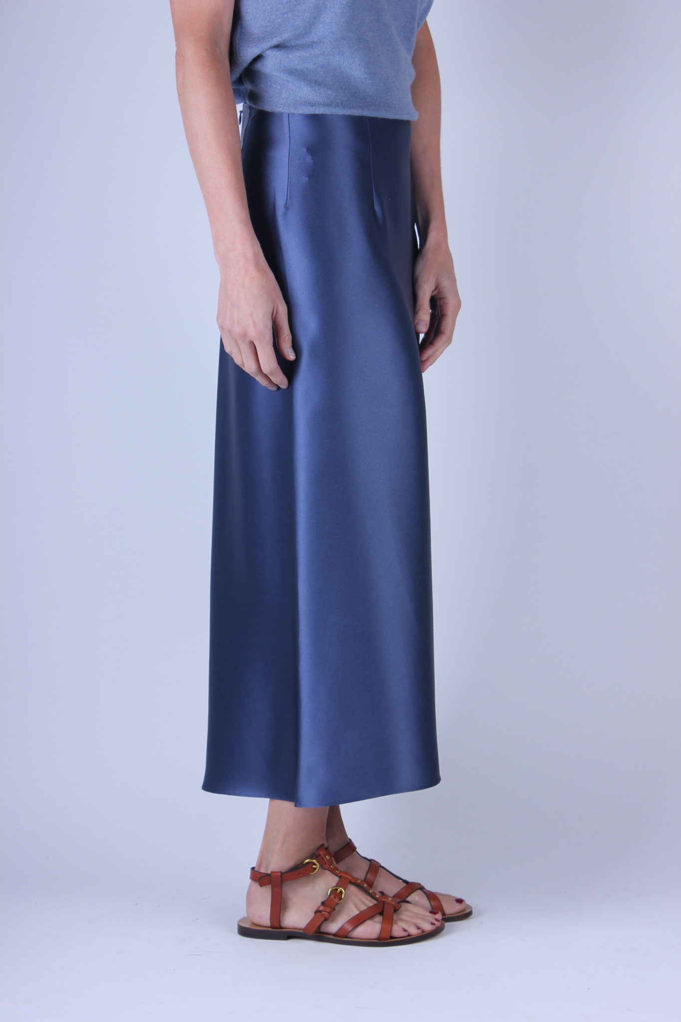 Vince slip skirt  (verkrijgbaar in 2 kleuren)-2