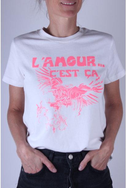 T-shirt Z&V AZEDI AMOUR COTON