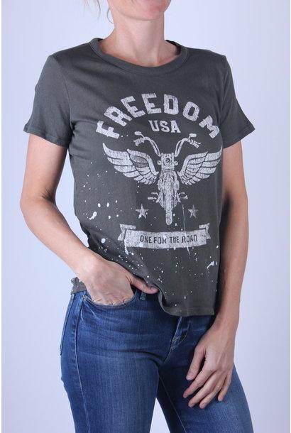 T-shirt Chaser Gauzy Crew Neck