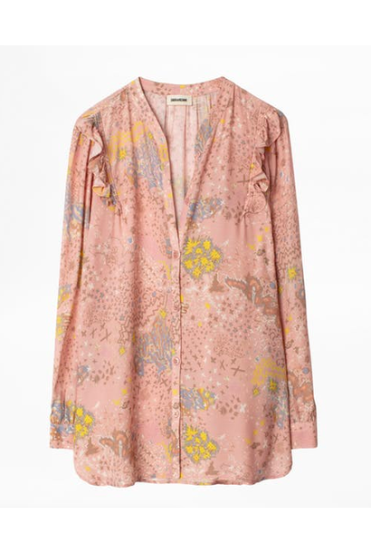Blouse Zadig et Voltaire TYGG PRINT GLAM ROCK