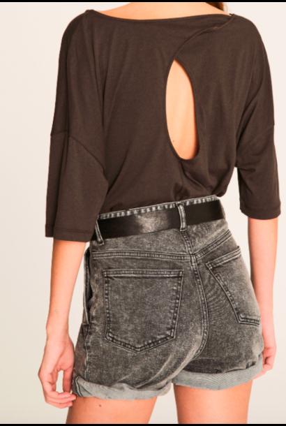 Ba&sh t-shirt Sabel (verkrijgbaar in 2 kleuren)
