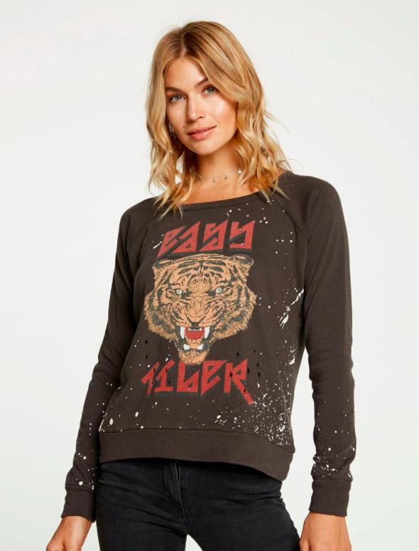 Trui Chaser Cotton Fleece-1