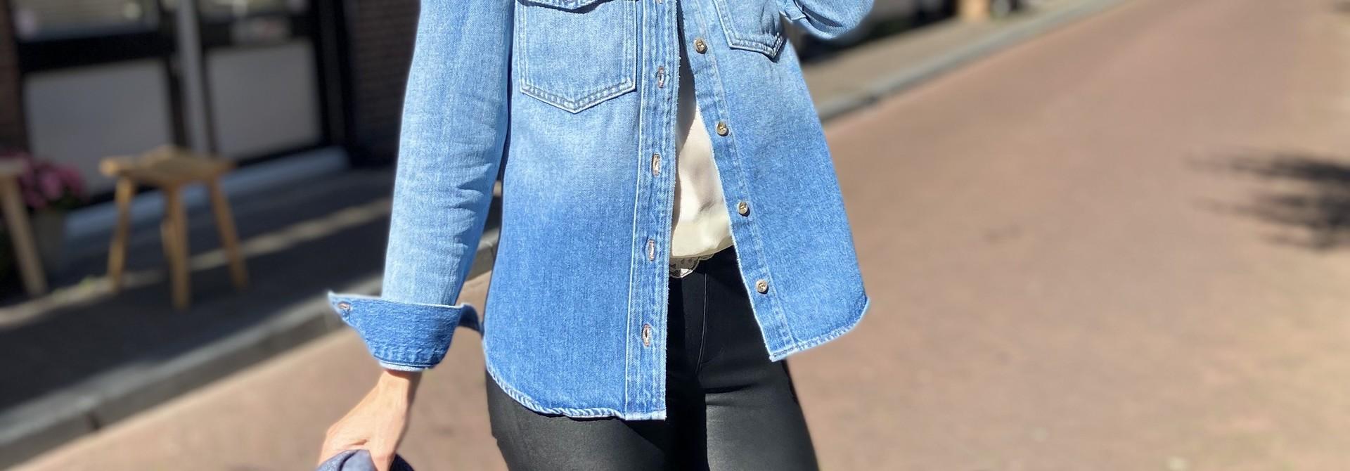 Denim blouse Frame