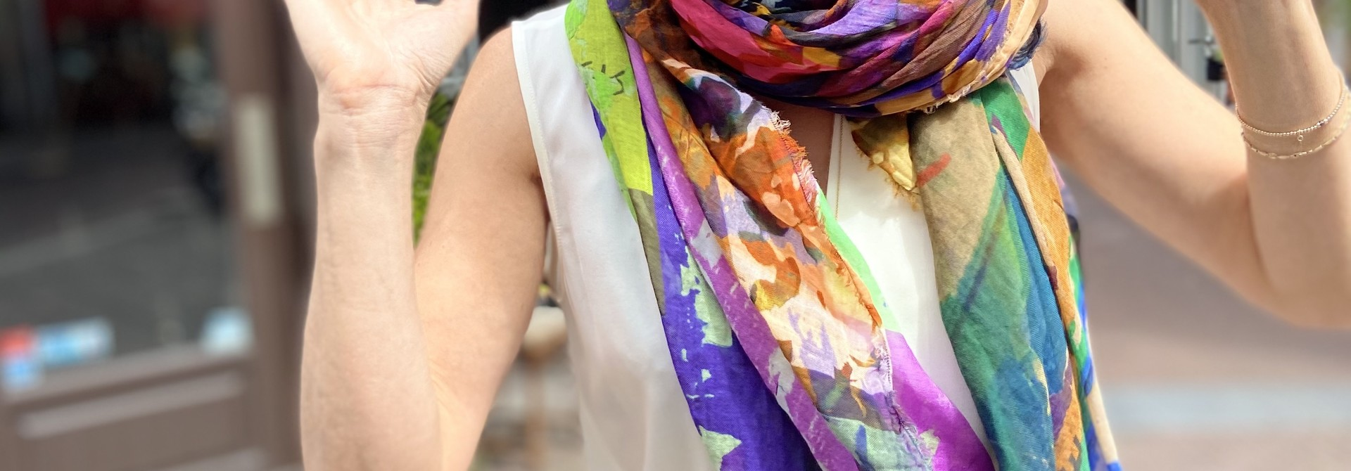 Sjaal Paint