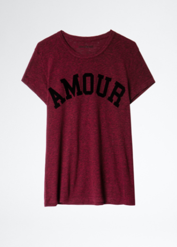T-shirt Walk Amour-3
