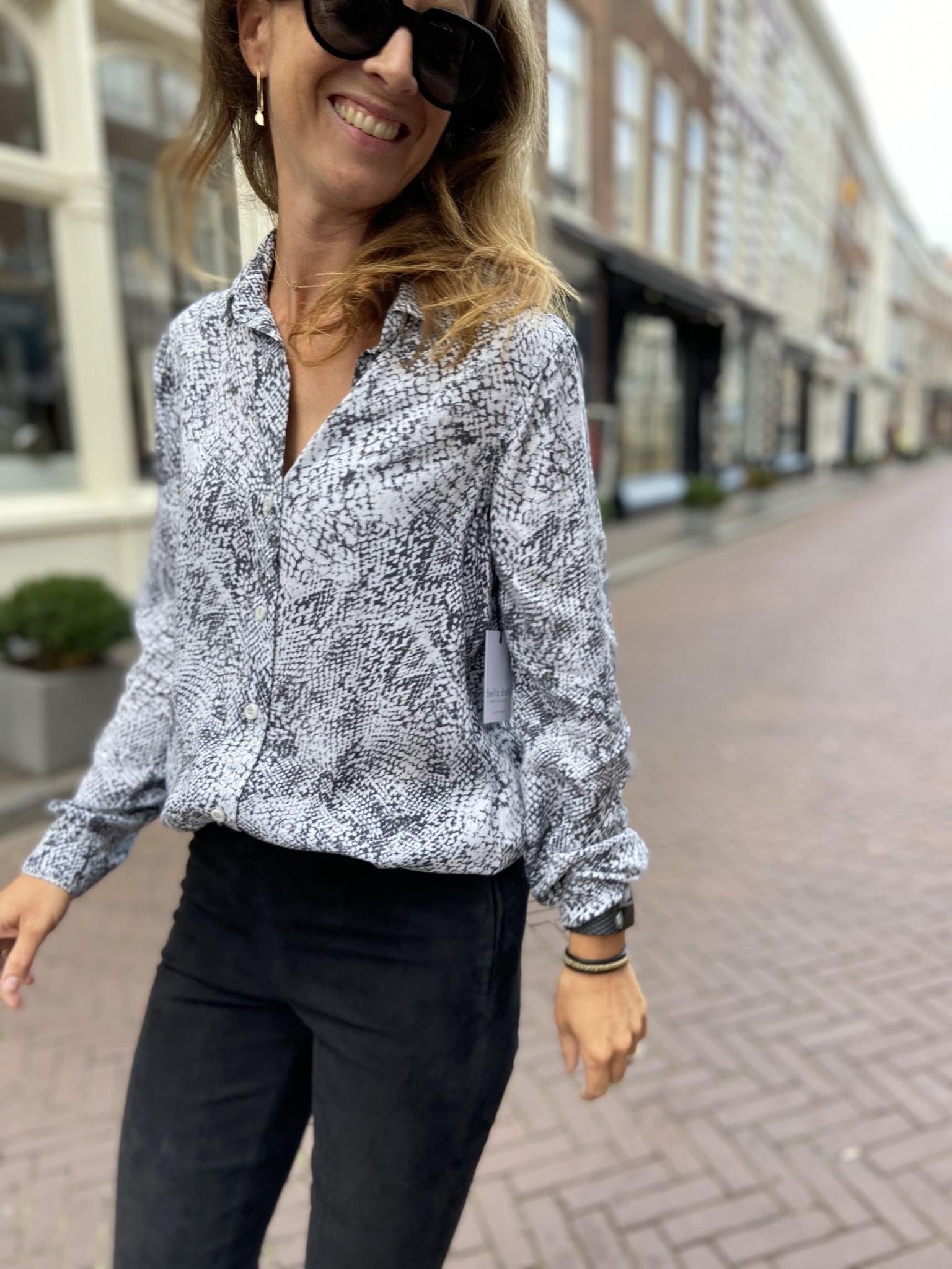 Blouse Bella Dahl Button Down Shirt-1